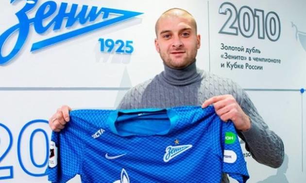 Ракицький забив перший гол за Зеніт