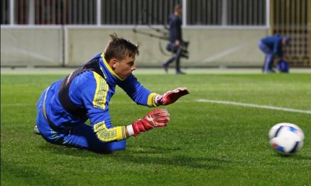 Україна U-21 — Шотландія U21: стартові склади команд