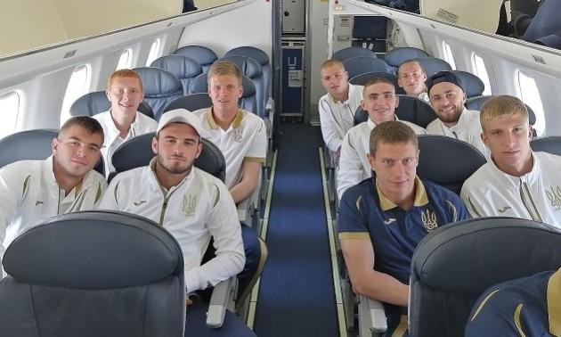 Збірна України U-20 вирушила до Польщі на чемпіонат світу
