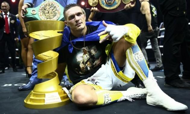 Джошуа: Усик зараз найкращий боксер світу