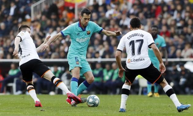 Барселона поступилася Валенсії в Ла-Лізі