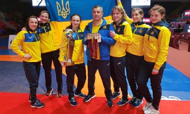 Жіноча збірна України з боротьби найкраща в Європі