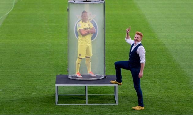 Магія на футбольному полі: як представляли зірку Вільярреала