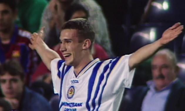 Початок Легенди! Рівно 25 років тому Андрій Шевченко забив гол у ворота Баварії