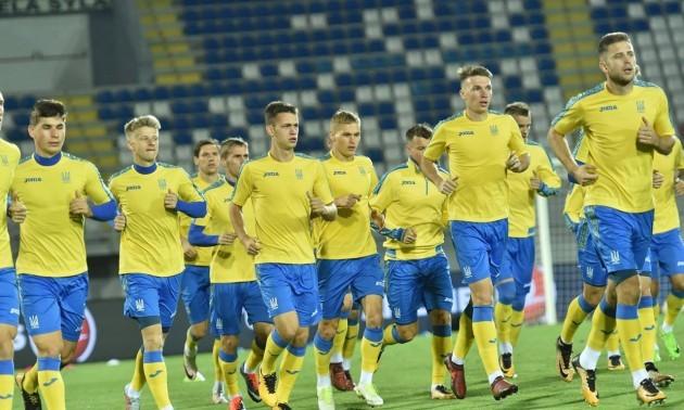 Збірна України проведе спаринг з командою Першої ліги
