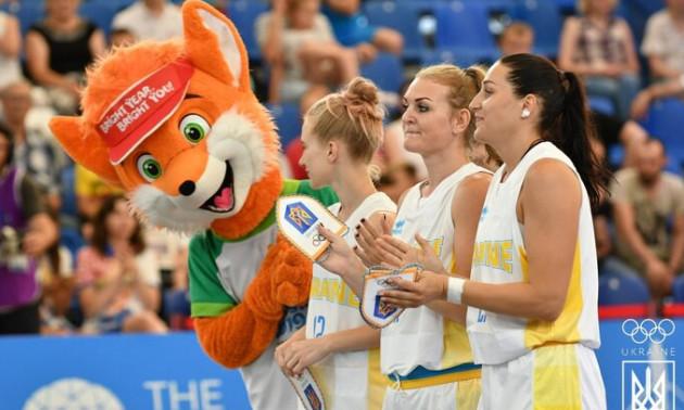 Жіноча збірна України з баскетболу 3×3 обіграла Іспанію у другому турі ІІ Європейських Ігор