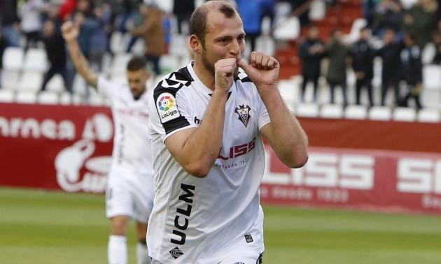 Зозуля забив восьмий гол в сезоні за Альбасете