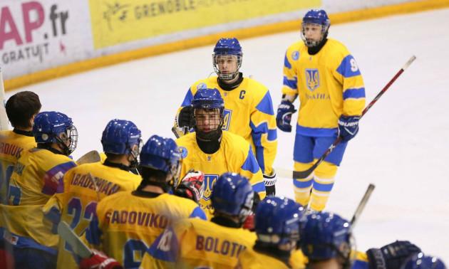 Збірна України займає передостаннє місце на чемпіонаті світу (U-18)