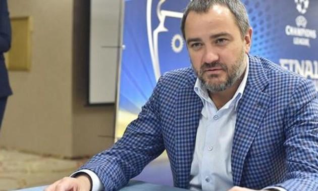 Павелко зустрів рішення УЄФА про поразку збірної України на відпочинку в Єгипті
