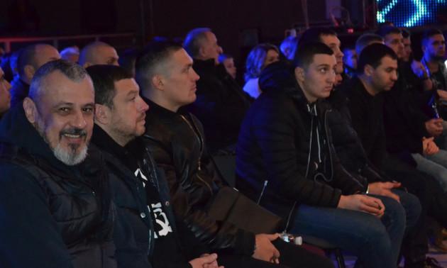 Усик та Берінчик відвідали вечір боксу в Кривому Розі. ФОТО