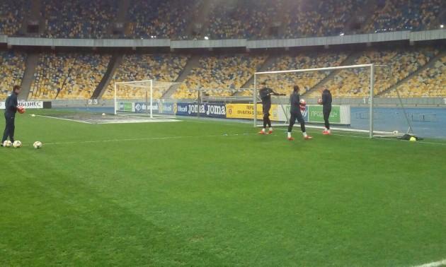 Збірна України проводить відкрите тренування на Олімпійському