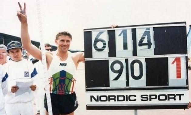 Легендарний рекорд довжиною у 25 років. В цей день Сергій Бубка злетів на космічну висоту