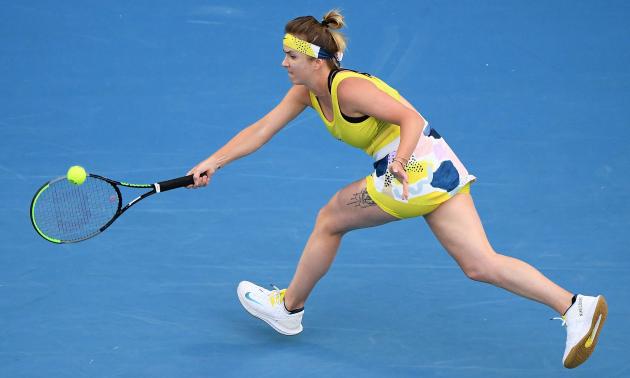 Світоліна поступилася Мугурусі та покинула Australian Open