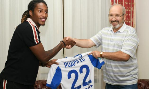 Динамо оголосило про підписання Родрігеса