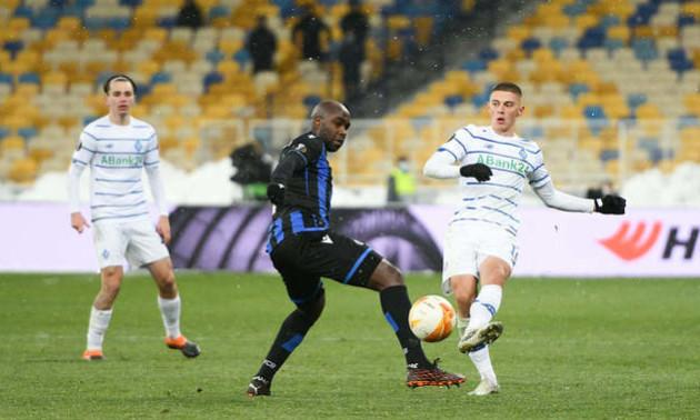 Миколенко - найкращий гравець Динамо в матчі з Брюгге за версією InStat