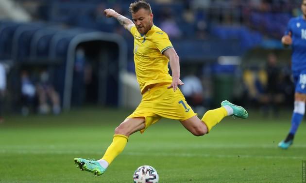 Ярмоленко забив 40-й гол за збірну, до, здавалося б, вічного рекорду Шевченка залишилося зовсім трішки