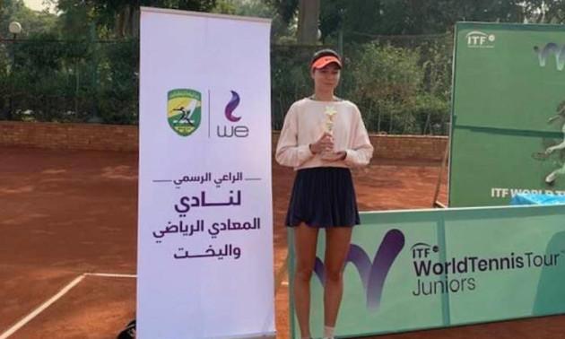 Українка Лазаренко виграла юніорський турнір ITF