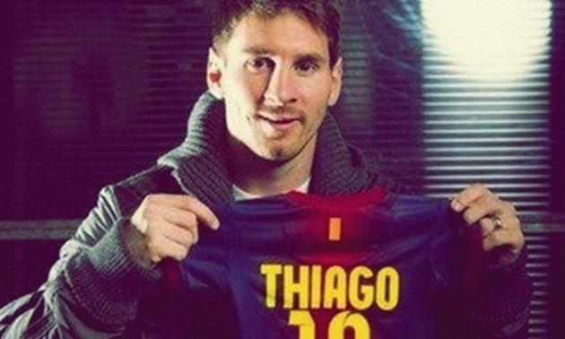 Син Мессі забив перший гол за Барселону