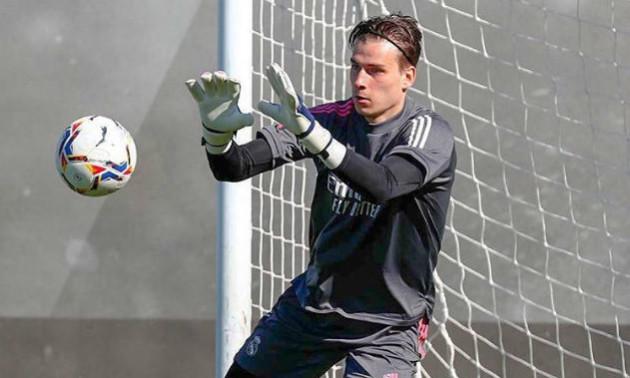 Лунін приступив до тренувань з Реалом