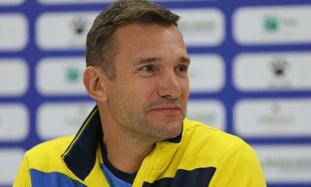 Шевченко: За перший тайм команда компліментів не заслуговує