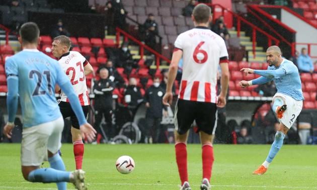 Манчестер Сіті без Зінченка переміг Шеффілд у 7 турі АПЛ