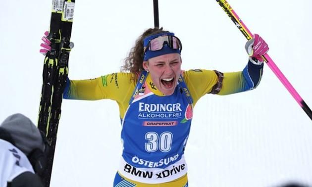Еберг здобула перемогу в мас-старті, Джима - 25