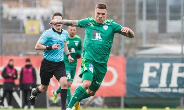 Буднік забив у сьомому матчі поспіль за Левадію