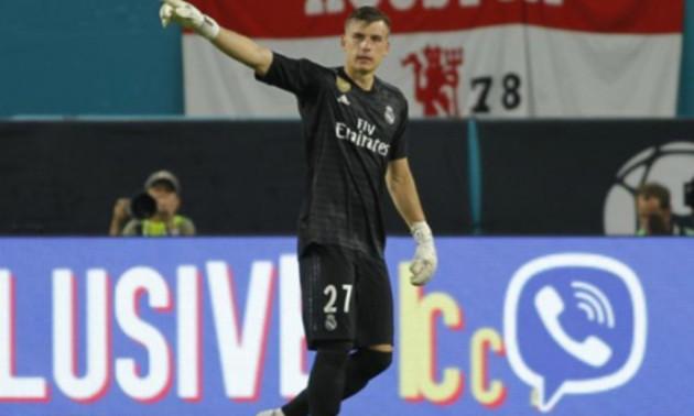 Лунін залишився в запасі Реалу на матч з Сосьєдадом