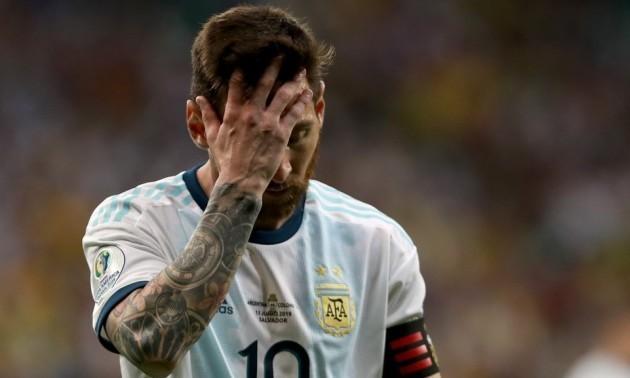Мессі врятував Аргентину від поразки у контрольному матчі з Уругваєм