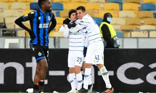Динамо не переграло Брюгге у 1/16 фіналу Ліги Європи