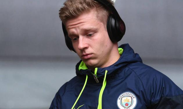 Зінченко поза заявкою Манчестер Сіті на матч проти Вулвергемптона