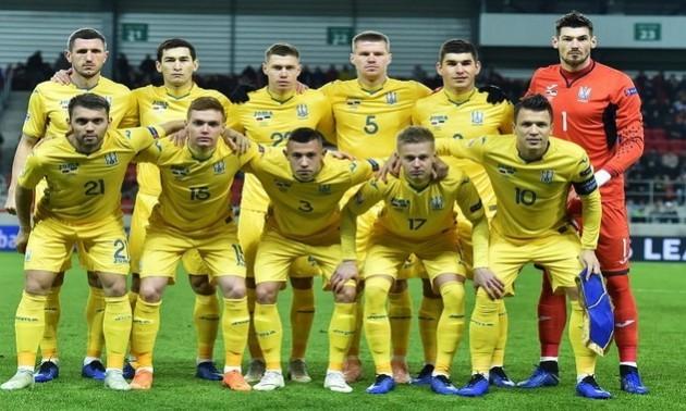 Збірна України опустилась на 30-ту сходинку в рейтингу FIFA