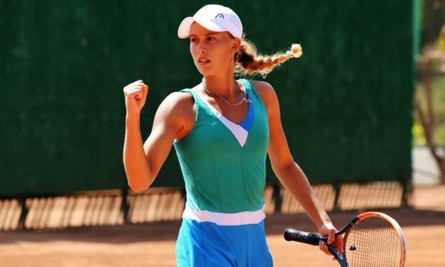 Молода українська тенісистка вдруге цього року побореться за путівку в фінал