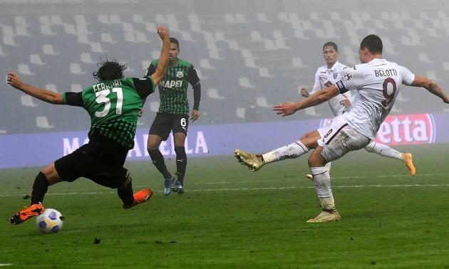 Сассуоло створив божевільний камбек у грі проти Торіно в Серії А
