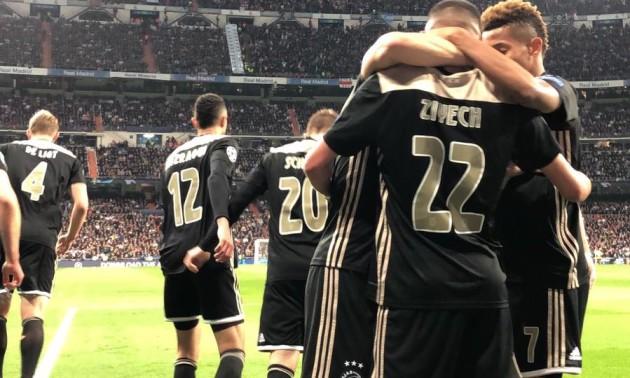 Аякс розгромив Реал та вибив мадридців з Ліги чемпіонів