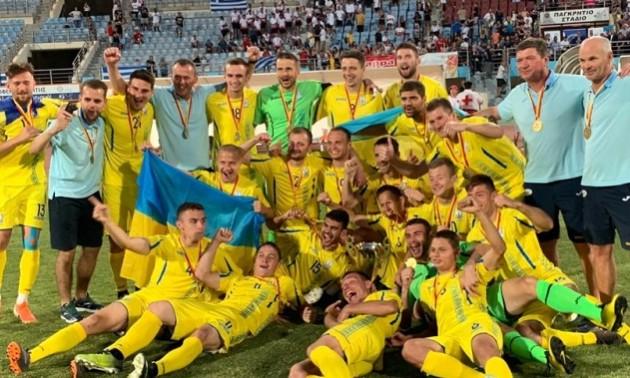 Дефлімпійська збірна України виграла чемпіонат Європи