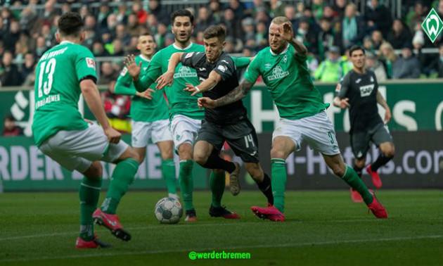 Вердер - Гоффенгайм 0:3. Огляд матчу