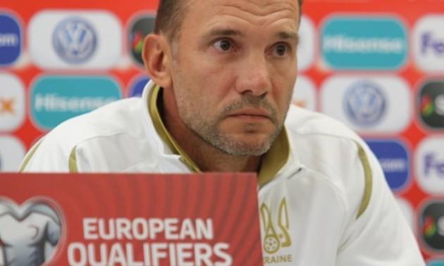 Шевченко оголосив склад збірної України на матчі проти Литви та Португалії