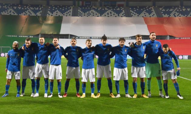 Футболісти збірної Італії отримали вакцини від COVID-19 перед Євро-2020