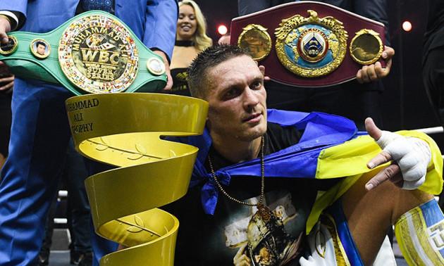 Усик планує стати абсолютним чемпіоном світу в супертяжах
