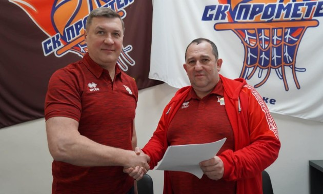 Черній став головним тренером Прометея