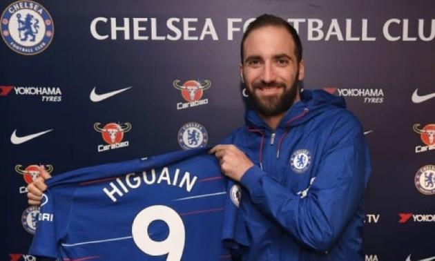 Челсі хоче викупити Ігуаїна дешевше 36 мільйонів євро
