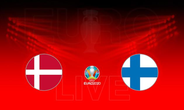 Данія - Фінляндія: онлайн-трансляція матчу чемпіонату Європи в групі B. LIVE