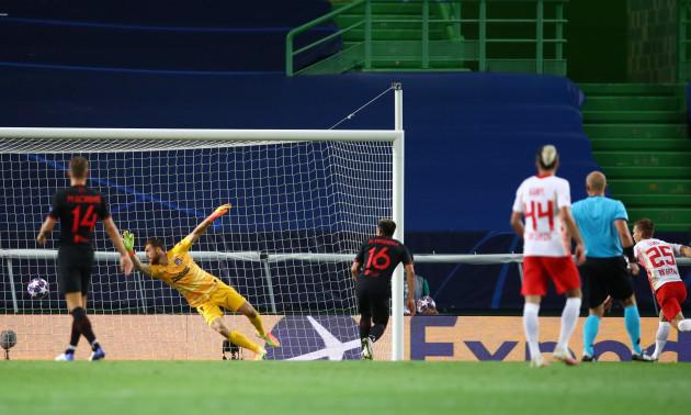 РБ Лейпциг - Атлетіко 2:1. Огляд матчу