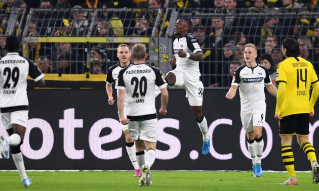 Боруссія врятувалася у матчі із аутсайдером Бундесліги