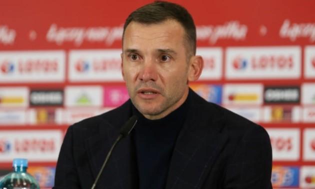 Шевченко оцінив готовність збірної України до відбору на ЧС-2022
