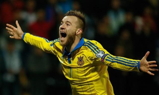 Ярмоленко зіграв 50-й матч за збірну України в офіційних турнірах