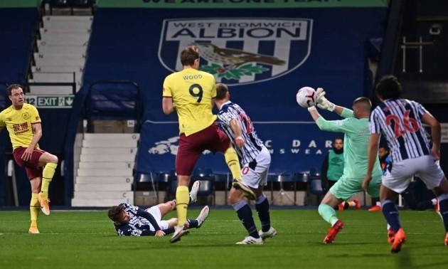 Вест Бромвіч - Бернлі 0:0. Огляд матчу