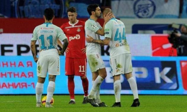 Ракицький відзначився голом у другому матчі поспіль за Зеніт