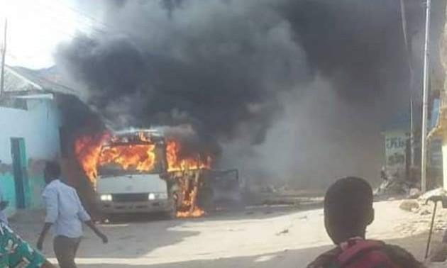 У Сомалі вибухнув автобус із футболістами, є загиблі